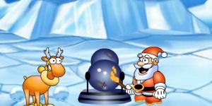 Snow bomb battle